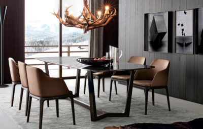 contemporary glass dining table ideas
