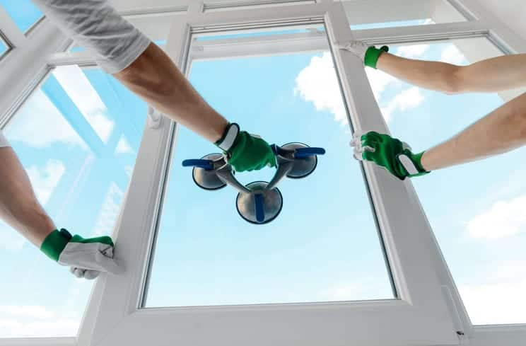 majestic glass repair experts replacing a window in the eastern suburbs of Sydney